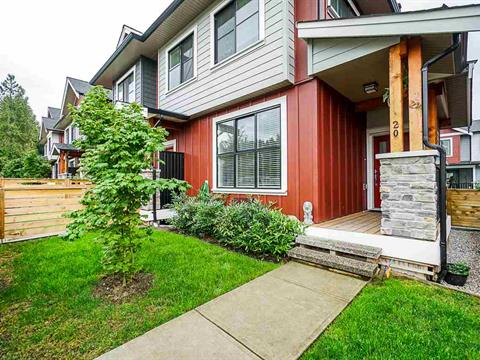 Townhouse for sale in Silver Valley, Maple Ridge, Maple Ridge, 20 13260 236 Street, 262410069 | Realtylink.org
