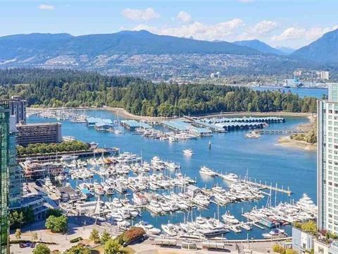 Apartment for sale in Coal Harbour, Vancouver, Vancouver West, 2403 1211 Melville Street, 262350571 | Realtylink.org