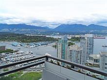 Apartment for sale in Coal Harbour, Vancouver, Vancouver West, 3403 1211 Melville Street, 262393318 | Realtylink.org
