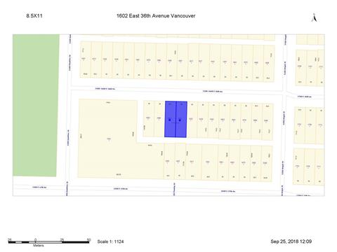 Lot for sale in Knight, Vancouver, Vancouver East, 1602 E 36th Avenue, 262401670 | Realtylink.org