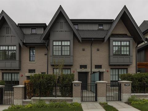 Townhouse for sale in Marpole, Vancouver, Vancouver West, 7923 Oak Street, 262406365 | Realtylink.org