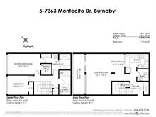 Townhouse for sale in Montecito, Burnaby, Burnaby North, 5 7363 Montecito Drive, 262406115 | Realtylink.org