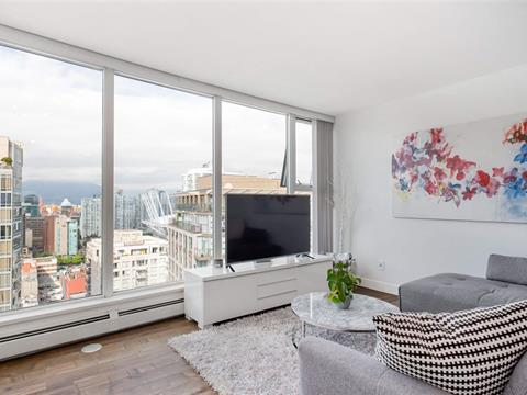 Apartment for sale in Yaletown, Vancouver, Vancouver West, 3102 1008 Cambie Street, 262409125 | Realtylink.org