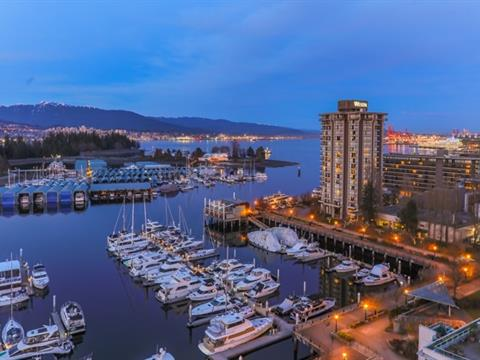 Apartment for sale in Coal Harbour, Vancouver, Vancouver West, Ph4 1777 Bayshore Drive, 262408418 | Realtylink.org