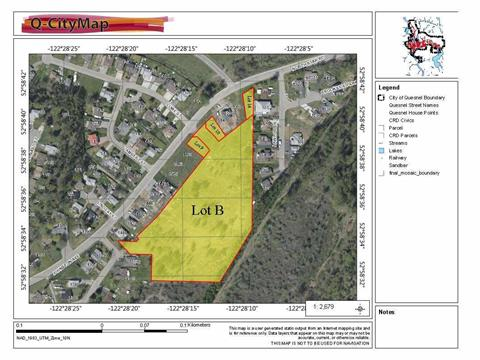 Lot for sale in Quesnel - Town, Quesnel, Quesnel, Lot B Johnston Avenue, 262413934 | Realtylink.org