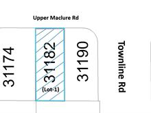 Lot for sale in Abbotsford West, Abbotsford, Abbotsford, 31182 Upper Maclure Road, 262413565   Realtylink.org