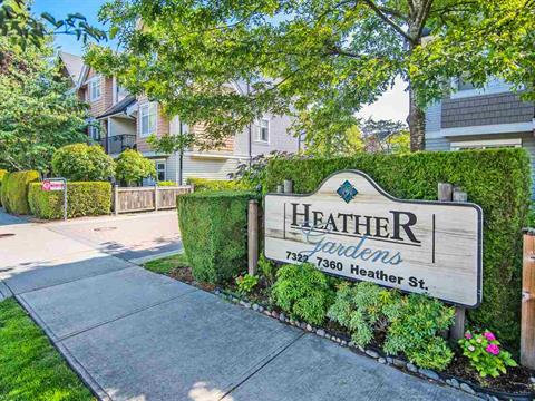 Townhouse for sale in McLennan North, Richmond, Richmond, 7 7360 Heather Street, 262413220 | Realtylink.org