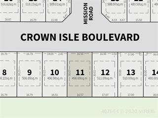 Lot for sale in Courtenay, Crown Isle, 1391 Crown Isle Blvd, 467554 | Realtylink.org