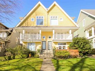 Townhouse for sale in Kitsilano, Vancouver, Vancouver West, 1 2315 W 10th Avenue, 262468752 | Realtylink.org