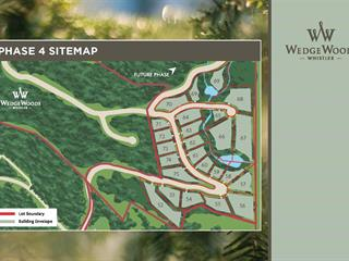 Lot for sale in WedgeWoods, Whistler, Whistler, 9261 Wedgemount Plateau Drive, 262377741 | Realtylink.org