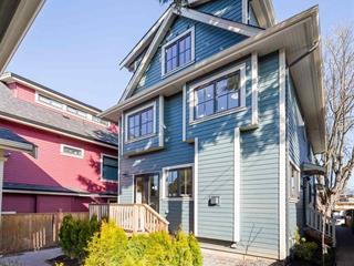 Townhouse for sale in Mount Pleasant VE, Vancouver, Vancouver East, 556 E 10th Avenue, 262469583   Realtylink.org