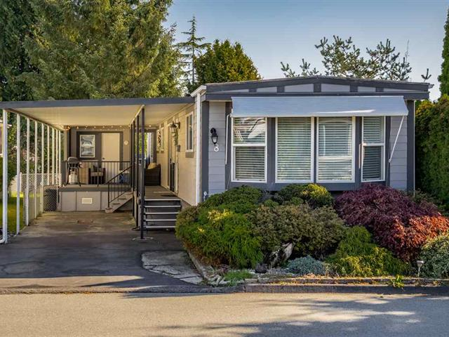 Manufactured Home for sale in King George Corridor, Surrey, South Surrey White Rock, 8 15875 20 Avenue, 262453030 | Realtylink.org