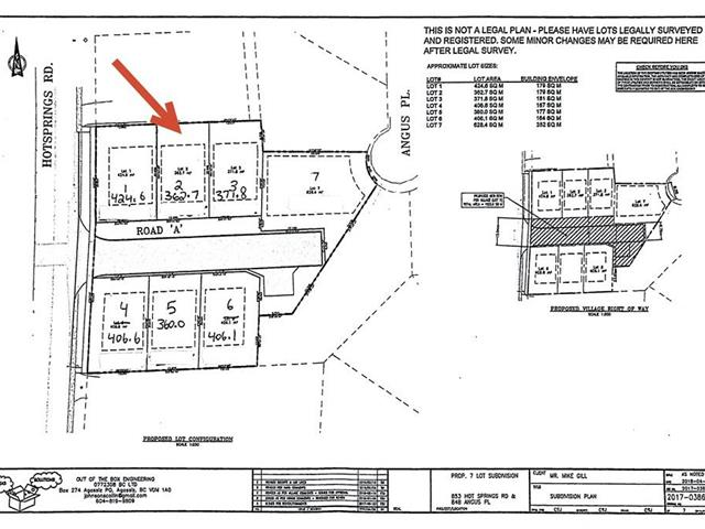 Lot for sale in Harrison Hot Springs, Harrison Hot Springs, 855 Willow Place, 262454589 | Realtylink.org