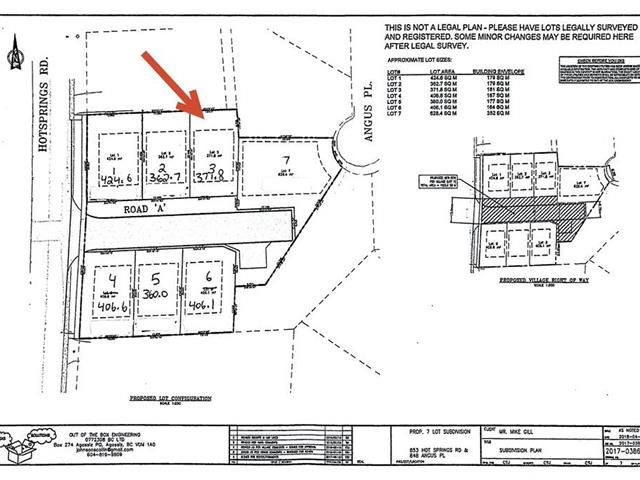Lot for sale in Harrison Hot Springs, Harrison Hot Springs, 853 Willow Place, 262454588 | Realtylink.org