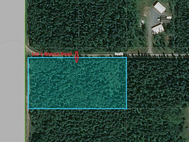 Lot for sale in Pineview, Prince George, PG Rural South, Lot 1 Wansa Road, 262435387   Realtylink.org
