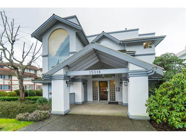 Apartment for sale in White Rock, South Surrey White Rock, 202 15018 Thrift Avenue, 262447675 | Realtylink.org