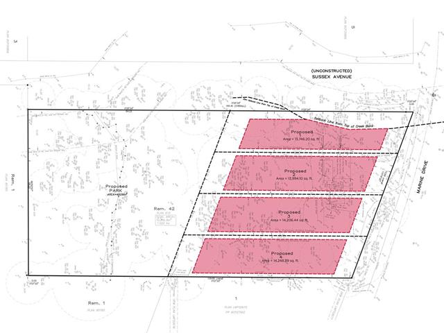 Lot for sale in Big Bend, Burnaby, Burnaby South, Lt 2 4420 Marine Drive, 262456073 | Realtylink.org