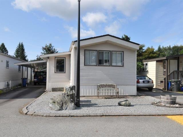 Manufactured Home for sale in Central Meadows, Pitt Meadows, Pitt Meadows, 131 19678 Poplar Drive, 262447347 | Realtylink.org