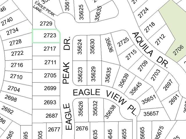 Lot for sale in Abbotsford East, Abbotsford, Abbotsford, 2723 Eagle Peak Drive, 262450128 | Realtylink.org