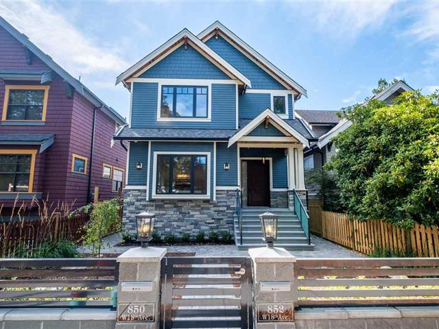 House for sale in Cambie, Vancouver, Vancouver West, 852 W 18th Avenue, 262447764   Realtylink.org