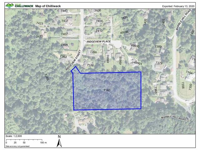 Lot for sale in Eastern Hillsides, Chilliwack, Chilliwack, 7360 Ridgeview Street, 262457895 | Realtylink.org