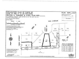 Lot for sale in Cloverdale BC, Surrey, Cloverdale, 5322 188 Street, 262461487 | Realtylink.org
