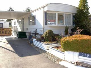 Manufactured Home for sale in King George Corridor, Surrey, South Surrey White Rock, 219 1840 160 Street, 262458217   Realtylink.org