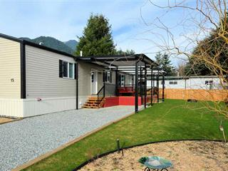 Manufactured Home for sale in Dewdney Deroche, Mission, Mission, 15 41711 Taylor Road, 262457793 | Realtylink.org