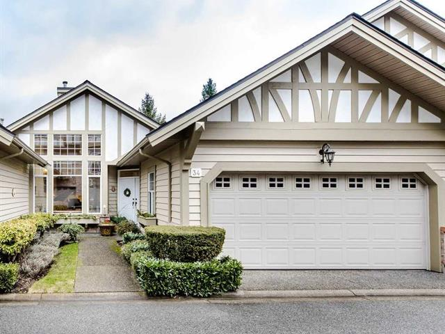 Townhouse for sale in Oaklands, Burnaby, Burnaby South, 34 5221 Oakmount Crescent, 262457996   Realtylink.org