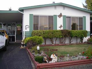 Manufactured Home for sale in King George Corridor, Surrey, South Surrey White Rock, 10 2120 King George Boulevard, 262426690   Realtylink.org
