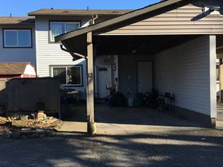 Townhouse for sale in Chilliwack E Young-Yale, Chilliwack, Chilliwack, 12 46689 First Avenue, 262458521 | Realtylink.org