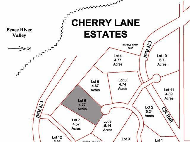 Lot for sale in Taylor, Fort St. John, Lot 6 Cherry Lane, 259586111 | Realtylink.org