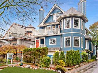 Townhouse for sale in Kitsilano, Vancouver, Vancouver West, 2423 W 6th Avenue, 262453667 | Realtylink.org