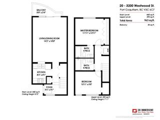 Townhouse for sale in Central Pt Coquitlam, Port Coquitlam, Port Coquitlam, 20 3200 Westwood Street, 262458447 | Realtylink.org