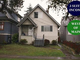 House for sale in Main, Vancouver, Vancouver East, 3782 Ontario Street, 262455025 | Realtylink.org