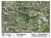 Lot for sale in Fort Langley, Langley, Langley, 22153 96 Avenue, 262421228 | Realtylink.org
