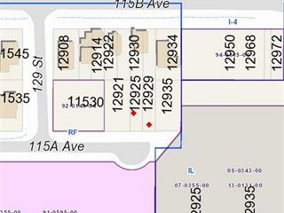 Lot for sale in Bridgeview, Surrey, North Surrey, 12929 115a Avenue, 262442361 | Realtylink.org