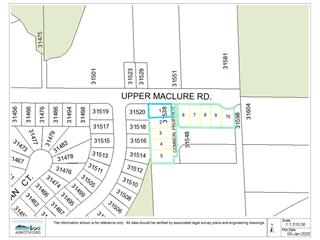 Lot for sale in Abbotsford West, Abbotsford, Abbotsford, Lt.1 31538 Upper Maclure Road, 262449359 | Realtylink.org