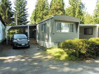 Manufactured Home for sale in Southwest Maple Ridge, Maple Ridge, Maple Ridge, 59 21163 Lougheed Highway, 262424910 | Realtylink.org