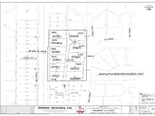 Lot for sale in Cloverdale BC, Surrey, Cloverdale, 5508 184 Street, 262423512 | Realtylink.org