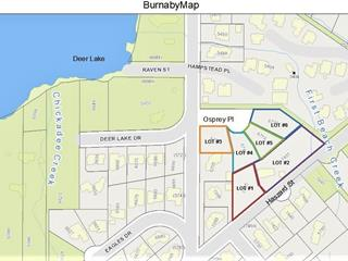 Lot for sale in Deer Lake, Burnaby, Burnaby South, 6720 Osprey Place, 262447685 | Realtylink.org