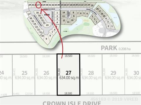 Lot for sale in Courtenay, Crown Isle, 2745 Crown Isle Drive, 456163 | Realtylink.org