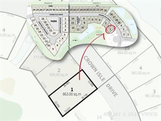 Lot for sale in Courtenay, Crown Isle, 2130 Crown Isle Drive, 456167   Realtylink.org