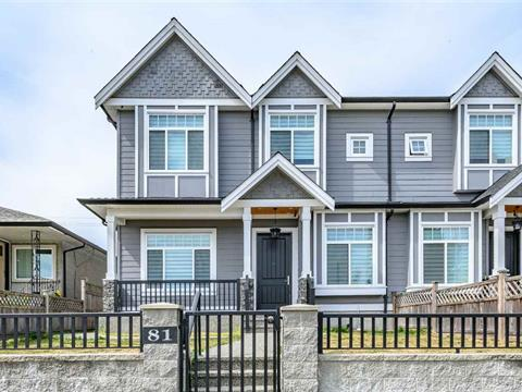 1/2 Duplex for sale in GlenBrooke North, New Westminster, New Westminster, 81 Glover Avenue, 262419045 | Realtylink.org