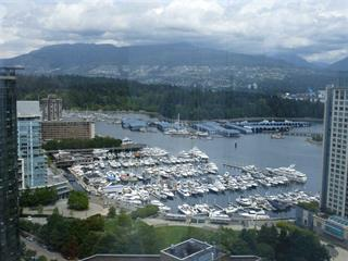 Apartment for sale in Coal Harbour, Vancouver, Vancouver West, 2404 1211 Melville Street, 262416619 | Realtylink.org