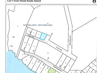 Lot for sale in Keats Island, Sunshine Coast, Lot 1 Forin Road, 262436429 | Realtylink.org