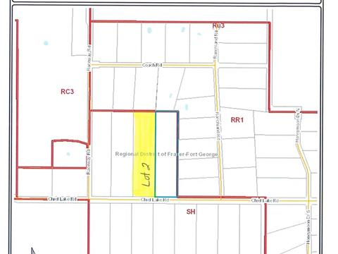 Lot for sale in Chief Lake Road, Prince George, PG Rural North, Lot 2 Chief Lake Road, 262385748 | Realtylink.org