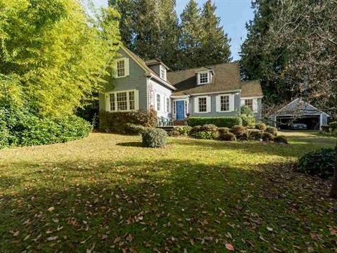 House for sale in Kerrisdale, Vancouver, Vancouver West, 6450 Cedarhurst Street, 262407582 | Realtylink.org