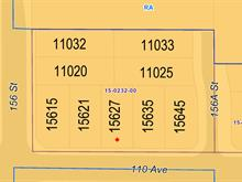 Lot for sale in Fraser Heights, Surrey, North Surrey, 15615 110 Avenue, 262381858 | Realtylink.org