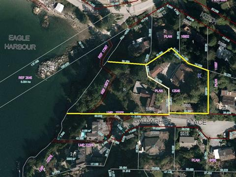 Lot for sale in Eagle Harbour, West Vancouver, West Vancouver, 5583 -5595 Gallagher Place, 262401456 | Realtylink.org